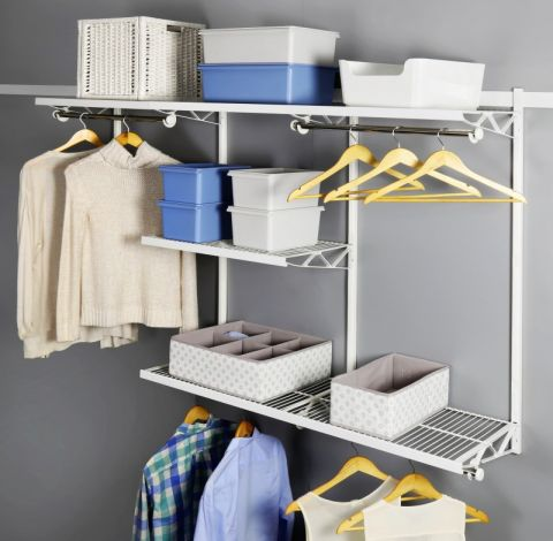 Наборы для гардеробной комнаты.